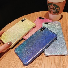 Gradient Laser Bling Shiny Back Cover For Xiaomi Redmi