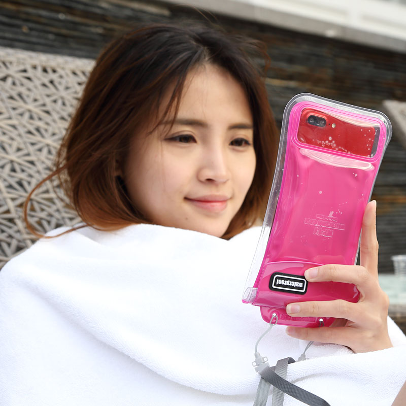 2019 Mobile Phone Waterproof Bag For Iphone 5 6s 6plus7p 8p X All Models 6 Inch Floating Waterproof Mobile Phone Case
