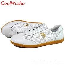 Летняя обувь из телячьей кожи Тай чи обувь кунг-фу у Шу xie taiji xie обувь для боевых искусств CoolWushu женщин и мужчин
