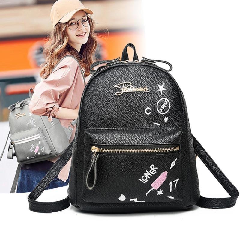 2018 Backpacks Shoulder Bags Casual Travel Litch Backpack for Teenage Girls PU Leather SchoolBag Backpack Mochila feminina2018 Backpacks Shoulder Bags Casual Travel Litch Backpack for Teenage Girls PU Leather SchoolBag Backpack Mochila feminina