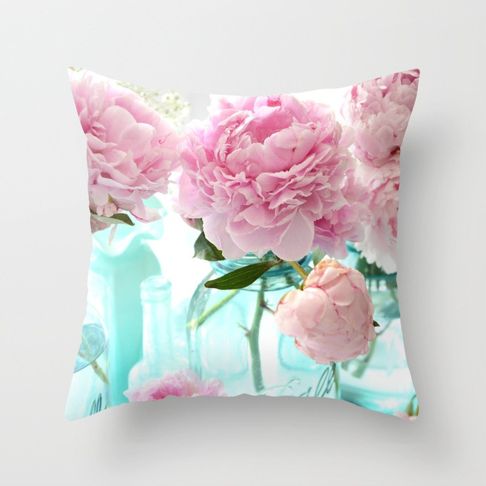 Image 4 - 2019 New American Dream Country Roses Pillowcase for Car Sofa Chair Valentine Gift Love Letter Party Decorative Cushion Covers-in Cushion Cover from Home & Garden