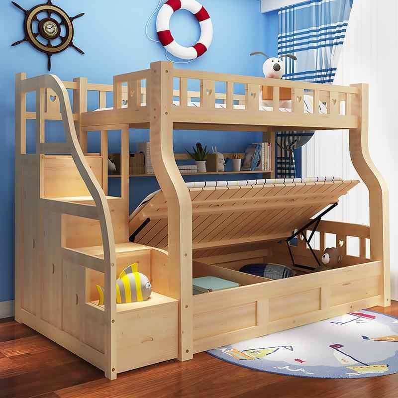 Dormitorio, детская одноместная современная двухъярусная мебель для спальни, Mueble Cama, двухъярусная кровать