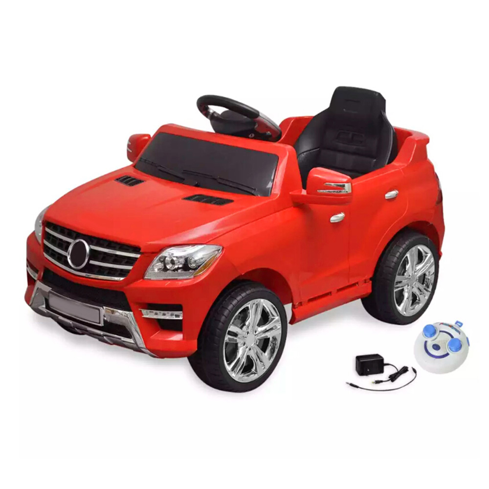 6 V 4 AH Mercedes Benz ML350 Electric Car Plastic Flexible And Safe Children Car Toy Color Shiny Red Rechargeablle Electric Car