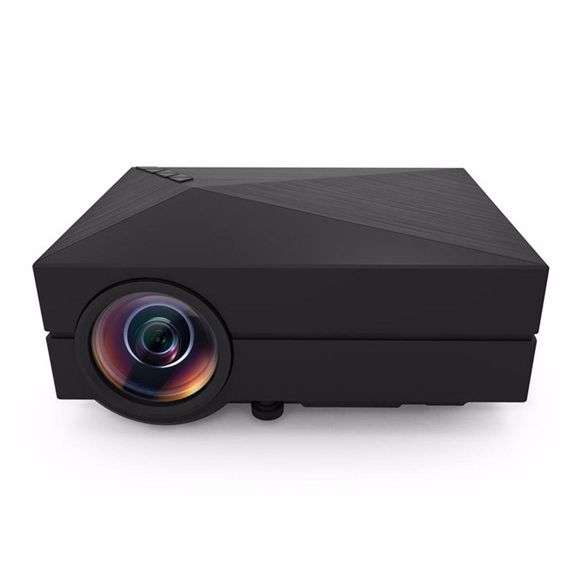 LEORY GM60 Mini Portable Full HD 1080 P LCD projecteur 1000LM LED Home cinéma résolution 800x480 Pixels