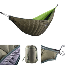 Outdoor Full Length Hammock Underquilt Ultralight Winter Under Quilt Blanket for Camping Hiking Backyard Travel Backpacking