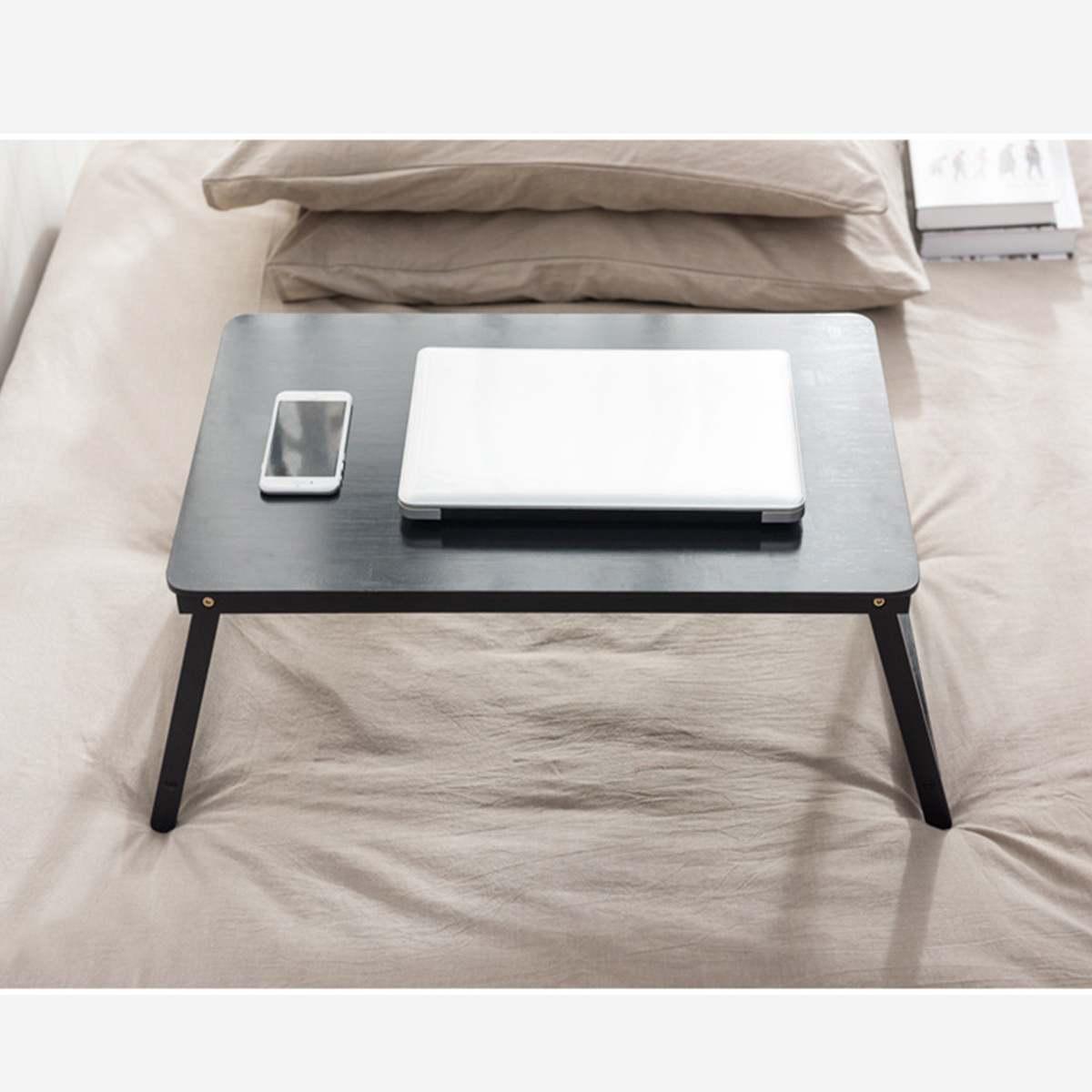 Bambus Laptop Tisch Für Bett Klapp Laptop Schreibtisch Computer Buch Stehen  auf Sofa/Bett Schlafsaal Reise Camping Picknick Tragbare hause
