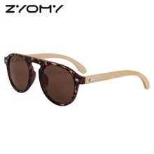 Sunglasses womenDriving Goggles Round Brand Designer Men Shades Women Eyewear Bamboo Leg Sunglasses UV400 Oculos de sol Gafas