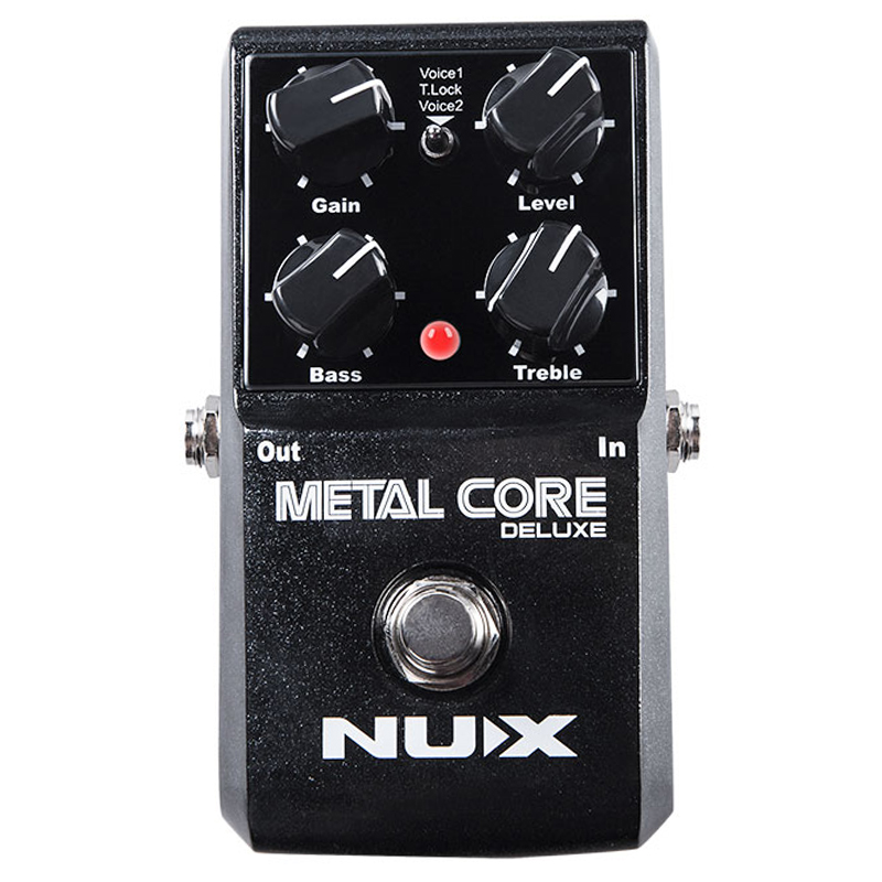 Nouveau NUX amélioré métal Core Deluxe distorsion guitare effets pédale classique métal et moderne extrême heavy Metal guitarra pédale