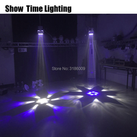 Disco laser light 6 Bee eyes Moving Head with laser disco Mini Led Stage Lighting use for home party KTV Dance Club good effect