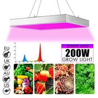 Smuxi 200W Growing Lamp LED Grow Light AC85 265V Full Spectrum Plant Lighting Fitolampy For Plants Flowers Seedling Cultivation
