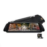 H900 Широкий формат Зеркало заднего вида Видеорегистраторы для автомобилей H.264 HD 1080 P 150 градусов Широкий формат 10 дюймов DDR 24 H Парковка монито