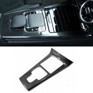 2pcs High Quality ABS Car Gearbox Panel Decorative Cover Trim For <font><b>Mercedes</b></font>-Benz A-class <font><b>W177</b></font> 2019 image