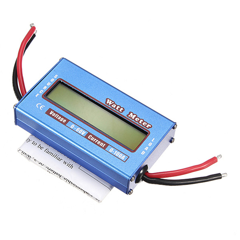 100A 60V DC RC Helicopter Airplane Battery Power Analyzer Watt Meter Balancer100A 60V DC RC Helicopter Airplane Battery Power Analyzer Watt Meter Balancer