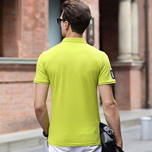 Image 4 - Men Summer New Brand Cotton Classic Casual Embroidery Polo Shirts Men Business Short Sleeve Stand Collar Tops&Tees Polo Shirt