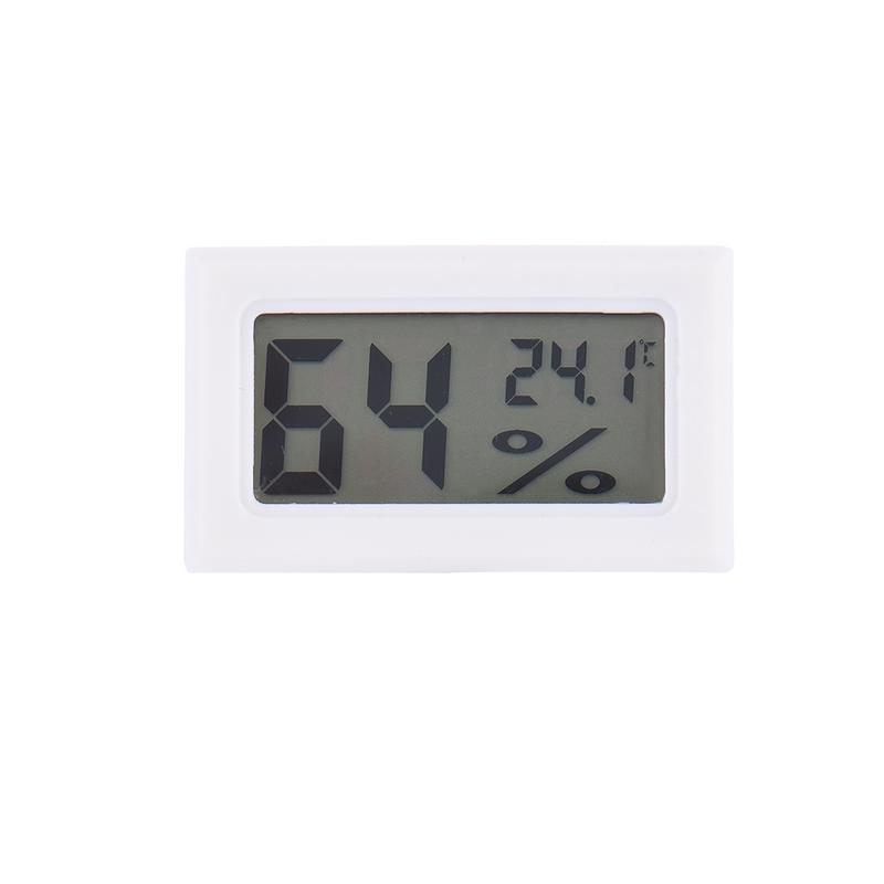 Image 3 - Mini Black Digital LCD Temperature Humidity Indoor Room Humidity Meter Thermometer Hygrometer Temperature Sensor Humidity-in Temperature Gauges from Home & Garden