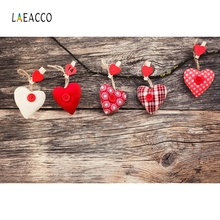 все цены на Laeacco Wooden Board Heart Backdrop Baby Portrait Photography Backgrounds Customized Photographic Backdrops For Photo Studio онлайн