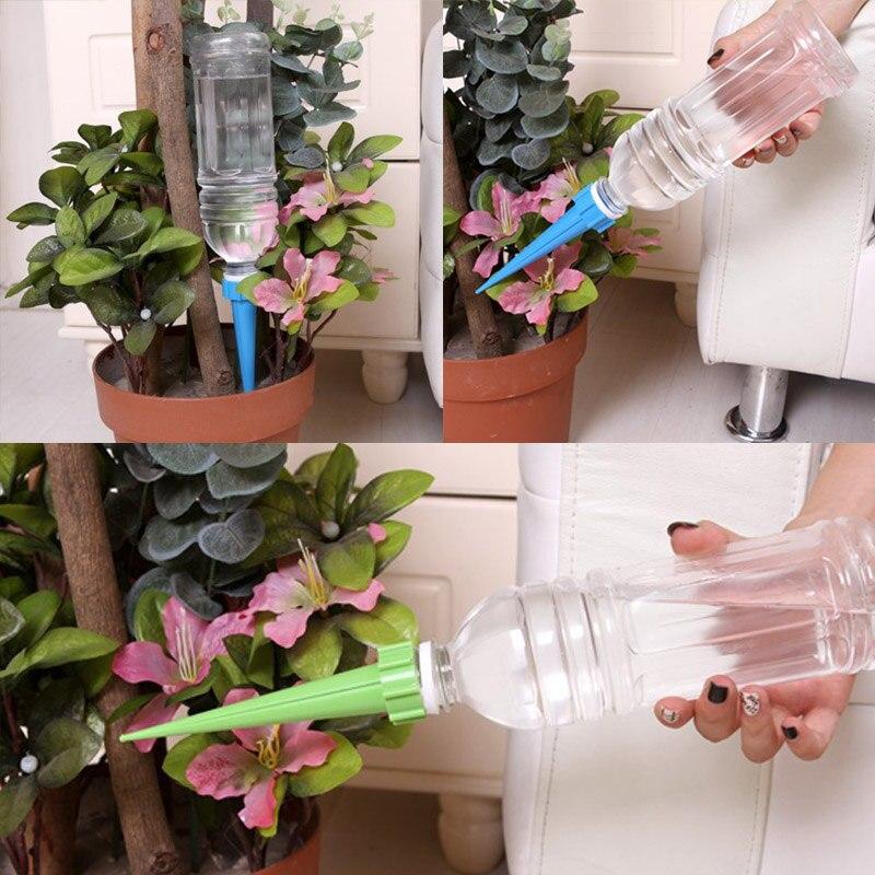 12 Pz/set Dispositivo Automatico Di Irrigazione Risparmio Energetico Ambientale Pianta Spikes Sistema Di Irrigazione Del Giardino Di Casa Forniture Interne Prevenire I Capelli Da Ingrigire E Utile Per Mantenere La Carnagione
