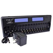 NC32 12/16 слот ЖК-дисплей Smart батарея быстро зарядное устройство несколько защиты зарядное устройство для Ni-MH NI-CD AAA или AA батарея США/ЕС Plug