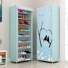 Многослойный водонепроницаемый металлический обувной шкаф, органайзер, скамейка для хранения, минималистичный Обувной Ящик, мебель для гостиной, подставка для обуви