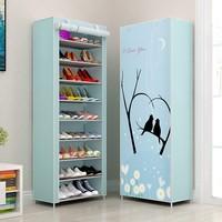 Multi layer Waterproof Metal Shoe Cabinet Organizer Storage Bench Minimalist Shoebox Living Room Furniture Stand For Footwear