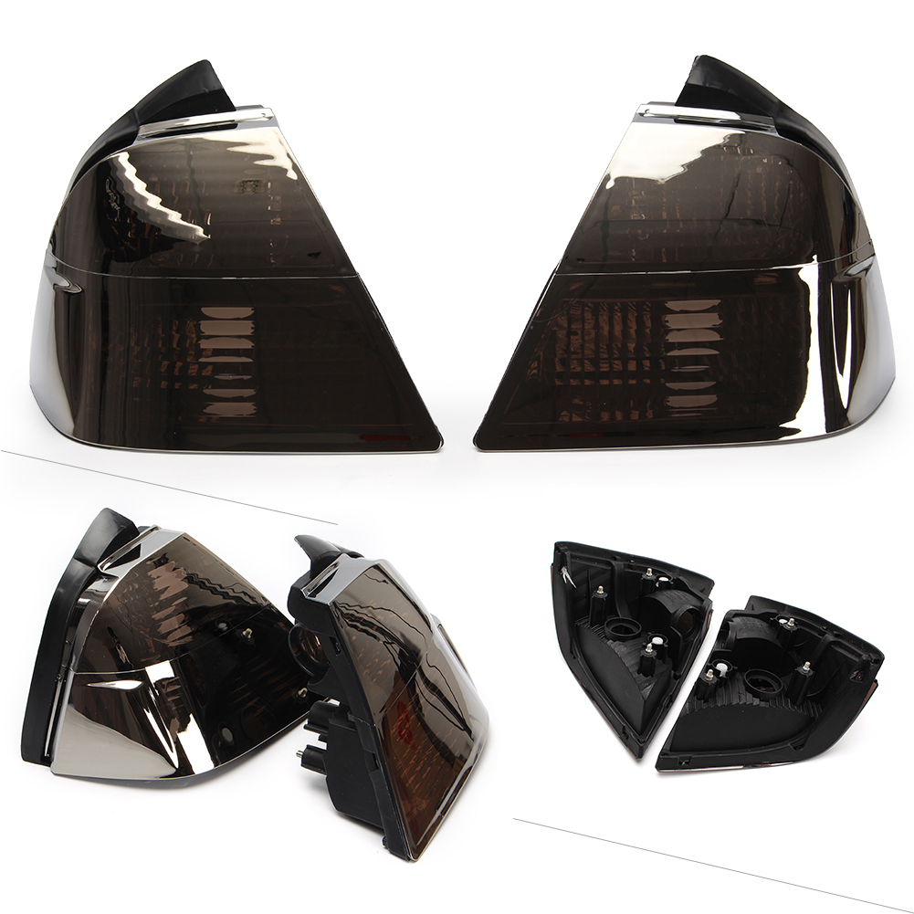 Ниже тормозных задний фонарь сигнала поворота свет прозрачные линзы Обложка для Honda Goldwing GL1800 2001 2005 серебро