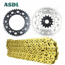 520 14T 43T Motorcycle Transmission Chain and front rear sprocket set for HONDA XR400 XR 400 1996 1997 1998 1999 2000 2001- 2004 cvgaudio m 43t