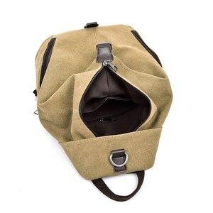 Image 5 - 2019 Kadın Tuval kızlar için sırt çantaları Kese Dos Okul Çantaları Için Kız Mochilas Casual Sırt Çantası seyahat omuz çantası Kadın Sırt Çantası