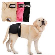 Новые женские подгузники Нижнее Белье Товары для домашних собак Моющиеся Многоразовые гигиенические штаны против травли