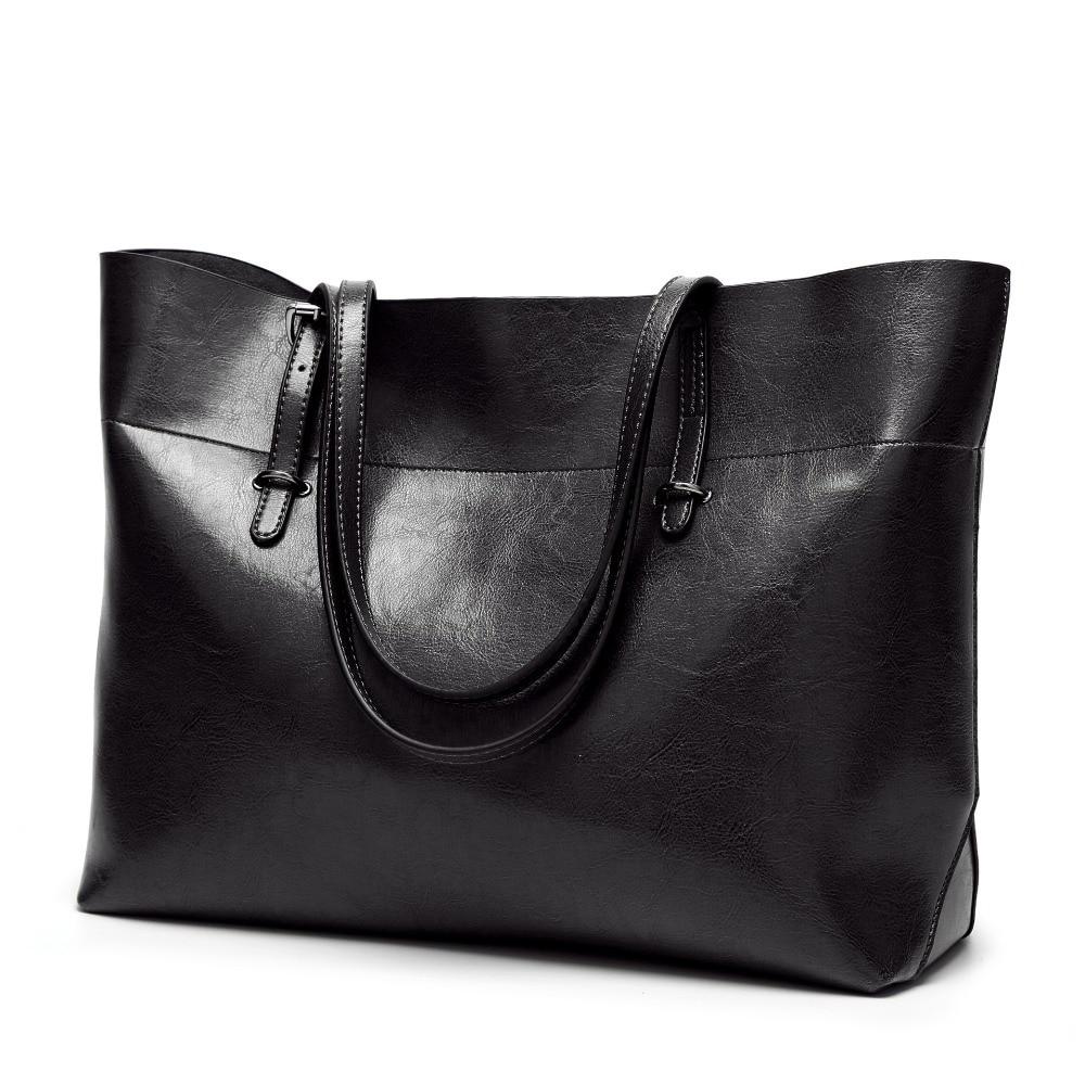Genuine Leather Bag Handbags Female Casual Shoulder Bags Ladies Messenger Bag Design Zipper Hobos Women's Messenger Bags  C832