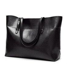 Genuine Leather Bag Handbags Female Casual Shoulder