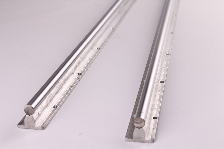 2 piezas guía lineal del eje ferroviario SBR12-300 SBR12-400 SBR12-600 SBR12-1200 SBR16-300 SBR16-600 apoya plenamente para CNC