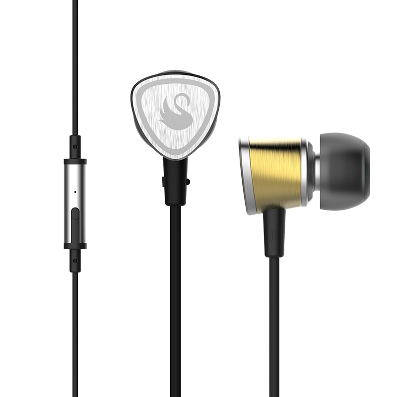 Fidue A65 Vibrations Film Ti-Tech In-Ear Stéréo MP3 Basse Hifi Musique Moniteur Studio DJ Mobile Téléphone Métal Écouteurs écouteurs
