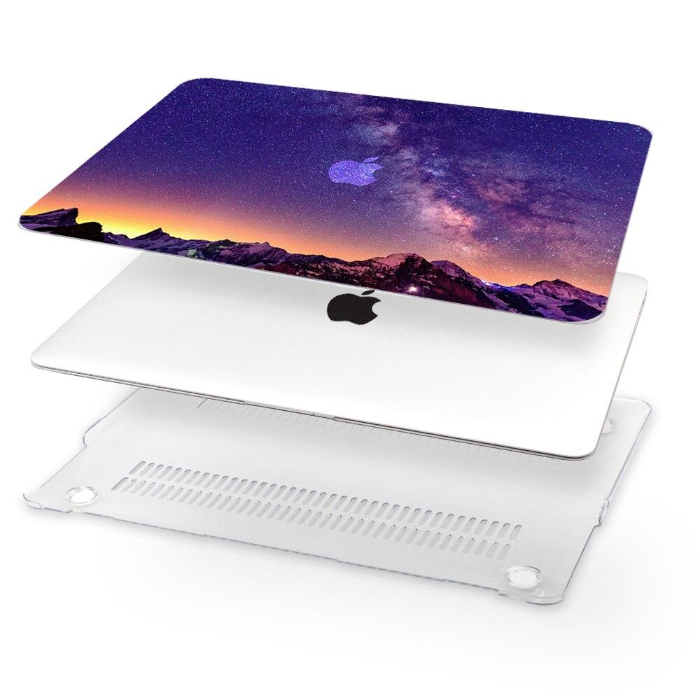 """שליכט אקרילי מחשב נייד Tablet חדש מקלדת Hard Shell Case כיסוי תיק 11 13 15"""" Apple Macbook Air A1932 Pro Retina Touch בר A1989 / A1990 SG (4)"""