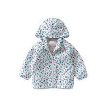 цена toddler girl jackets for girls coats outerwear print flower baby coat fashion kids clothes children spring jackets boutiques онлайн в 2017 году