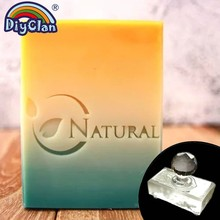 Natural Handmade Soap Stamp Leaf  Diy Natural Stamps For Soap Making Chapter Custom Acrylic Chapter Tools