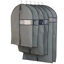 Домашняя одежда, пылезащитный чехол для шкафа, пальто, чехол для хранения, подвесной защитный Органайзер, сумка
