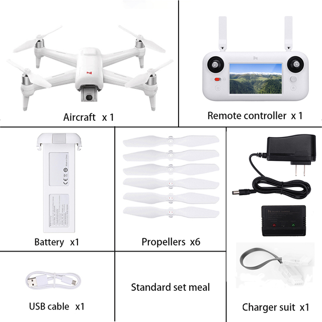 In Stock Xiaomi FIMI A3 5 8G GPS Drone 1KM FPV 25 Minutes With 2