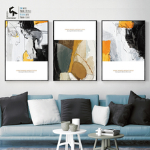 CREATE&RECREATE Nordic Poster Modern Abstract Posters And Prints Wall Art Canvas Oil Painting Decorative Pictures CR1810113014