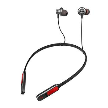 Wireless Bluetooth 4.2 Earphones Neck Mounted Sports Headphone EarHook CSR Stereo Bluetooth Headset With Micphones Calls