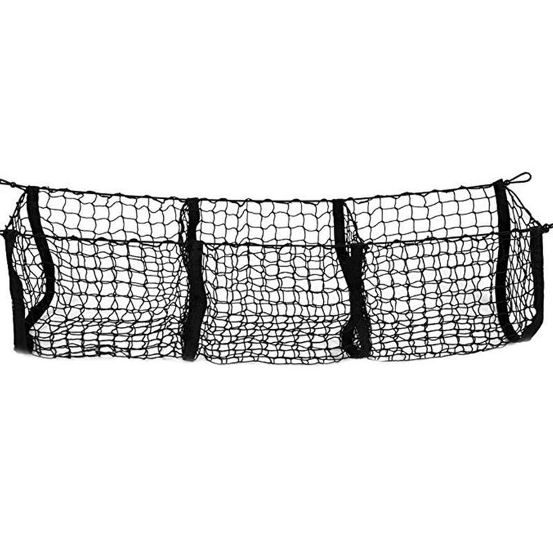 Auto Stamm Net Tasche Drei Grid Gepäck Dreidimensionale Net Tasche Die lagerung net befestigung und platzierung von gepäck