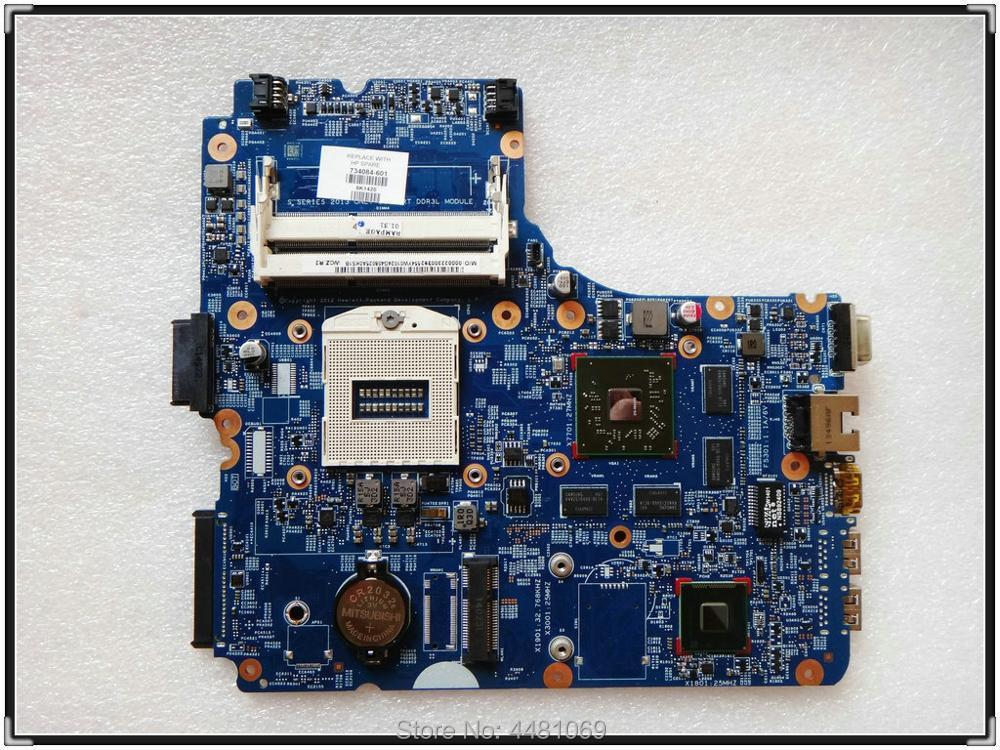 For HP Probook 440 450 G1 Intel laptop motherboard 734085-501 734085-601 Test OK