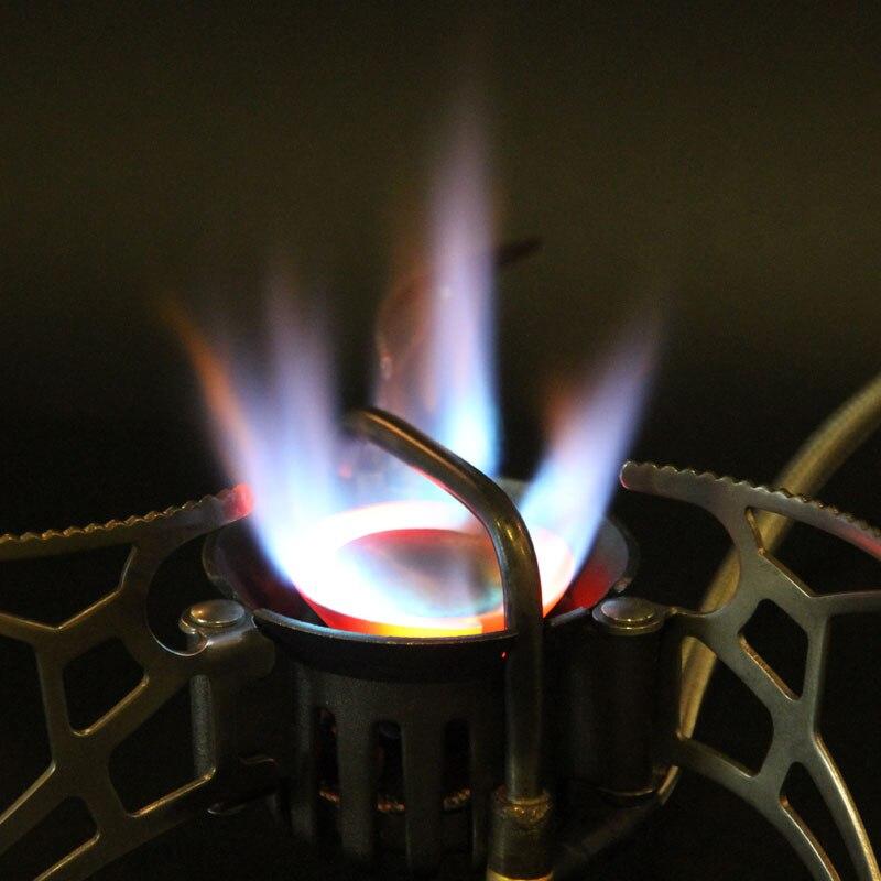 APG 1000 Ml cuisinière à essence extérieure multi-usages Camping huile et gaz cuisinière bouteille de carburant Camping outil en plein air Portable ustensiles de cuisine - 2