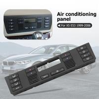 Auto Replacement Push Buttons Caps A/C Climate Control Panel Set Black For BMW 5 Series E39 1996 2003 X5 E53 1999 2006