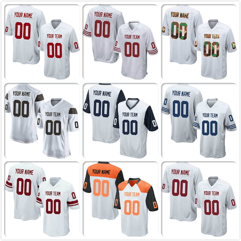 Custom Gray Mesh Replica Football Game Jersey Embroidered High School College Team Logo Your Own Name Number For Men Women Kids Moderate Price America Football