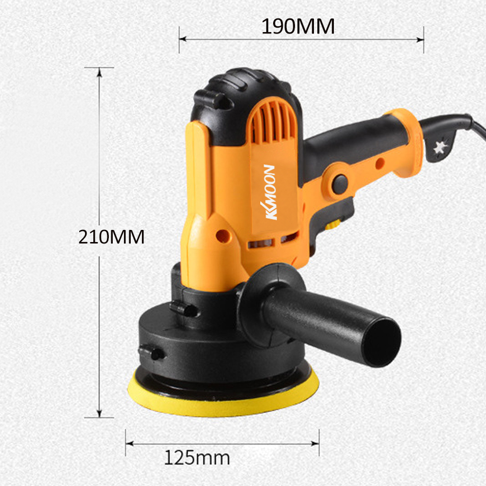 Image 2 - KKmoon 700W Car Polisher Machine Electric auto Polishing Machine Adjustable Speed Sanding Waxing Grinding Tools car accessorie-in Polishers from Tools on