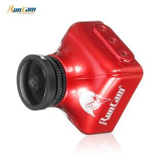 Image 2 - RunCam Eagle 2 Pro Global WDR, OSD Audio 800TVL CMOS FOV 170 градусов 16:9/4:3 переключаемая FPV камера оранжевого и красного цвета для радиоуправляемых дронов