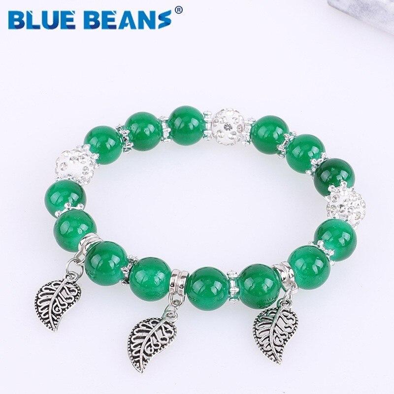 Manuel Zed Blue Charm Bracelet