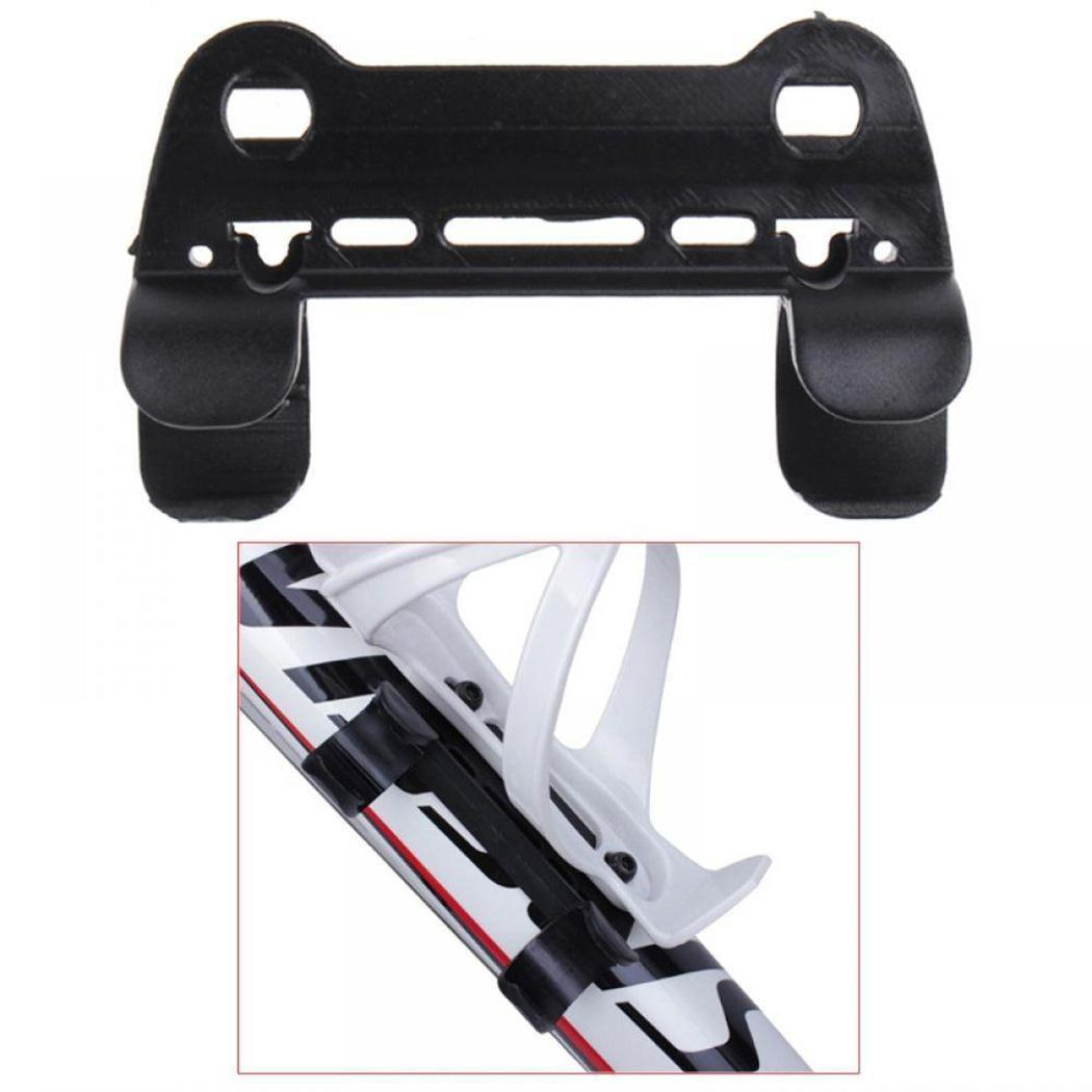 Bicycle Pump Holder Double Fixed Clip Mount Nylon Portable Cycling Accessories