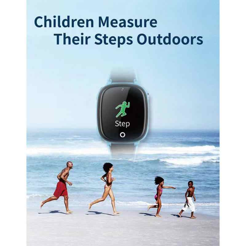 HW11 GPS Tracker Children's Smart Watch Kids Watches Phone Positioning IP67 Waterproof Watch For Boy And Girl SOS Calling
