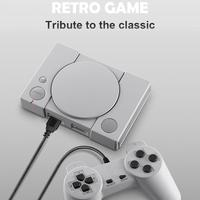 Classic Game Console supports high definition audio 8 bit PS1 Mini Home 620 Entertainment Retro Double Battle Game Console